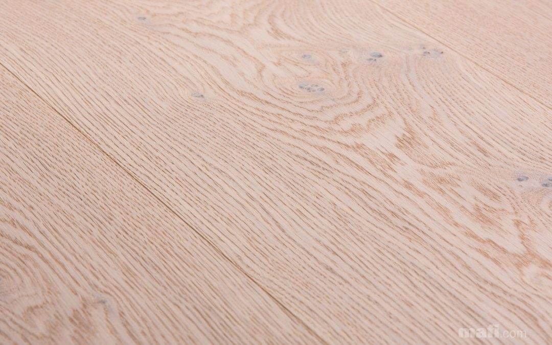 Oak Character Brushed Extreme White Oil