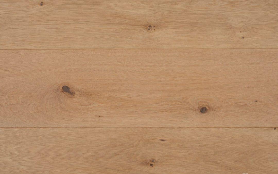 Oak Character Brushed Raw Wood Look
