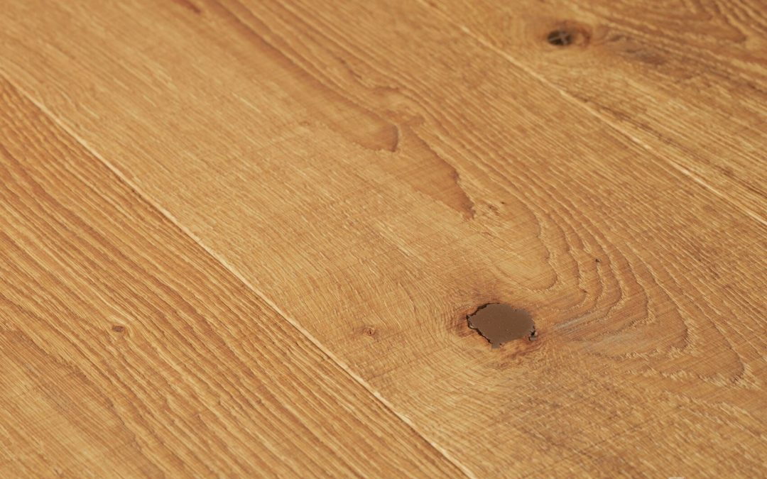 Oak Character Sawn Texture Natural Oil