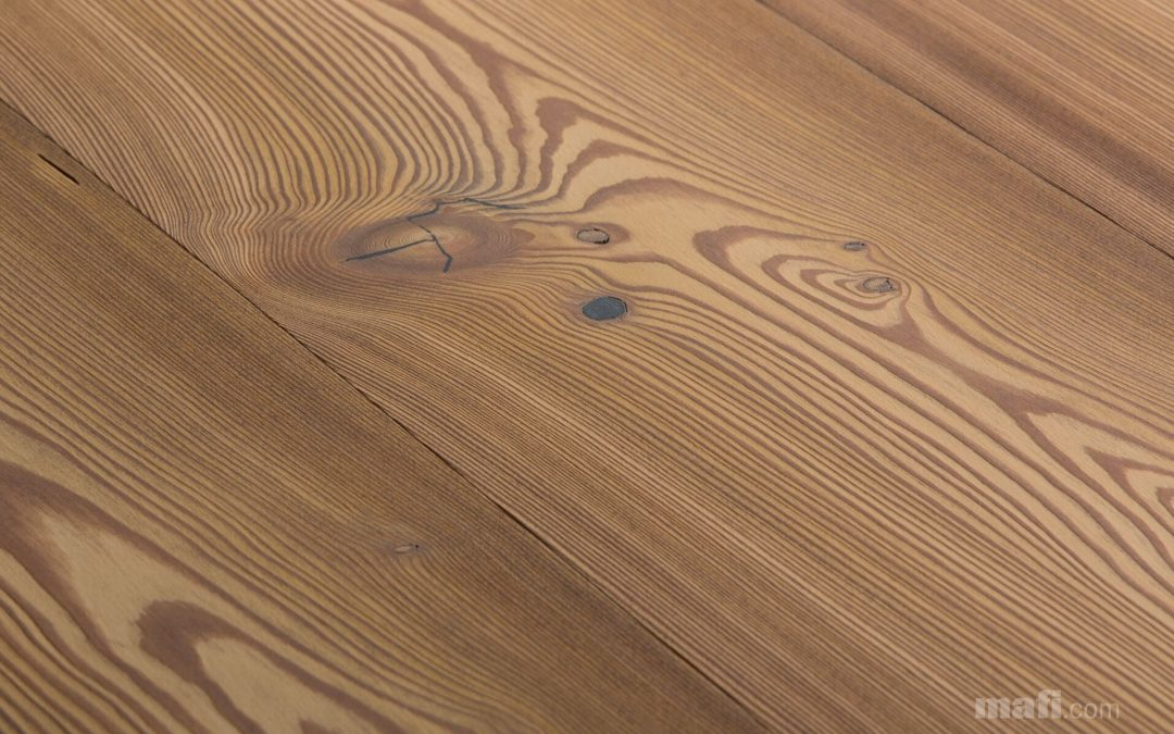 Larch Country Vulcano Brushed White Oil