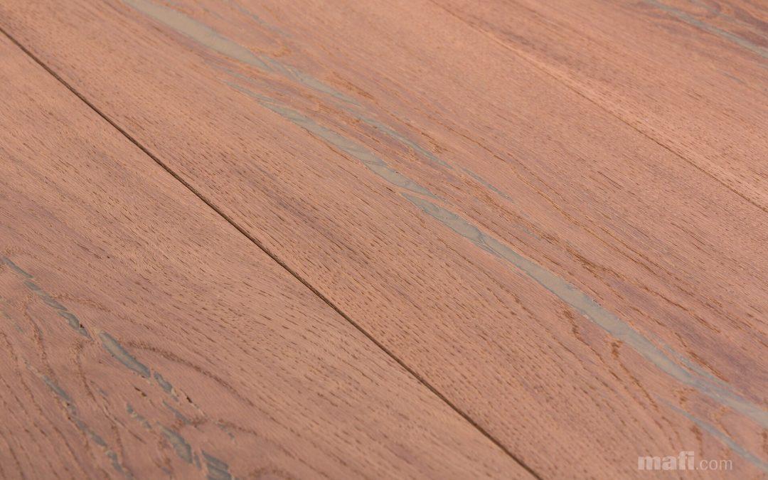 Tiger Oak Gold Brushed White Oil