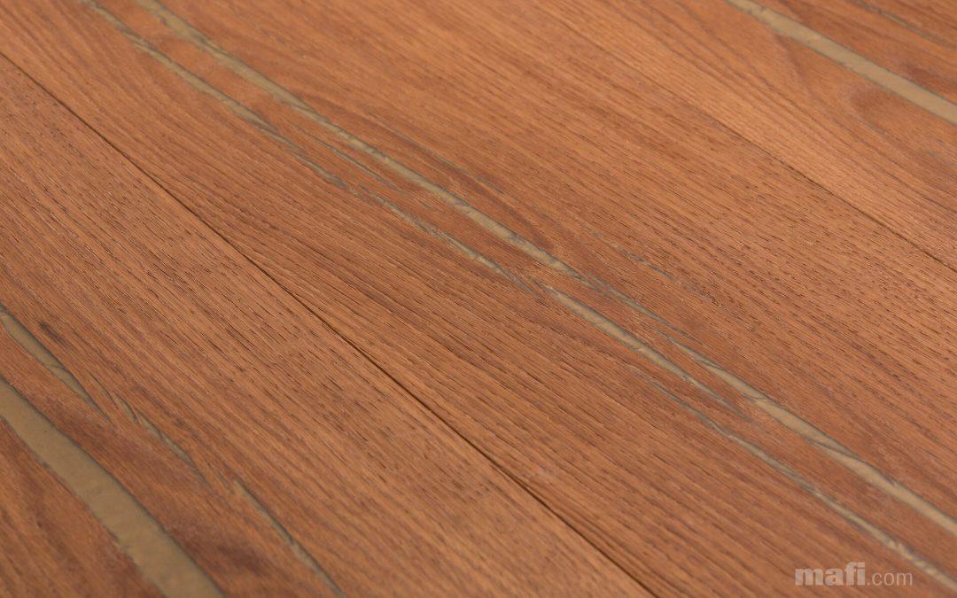 Tiger Oak Gold Brushed Natural Oil