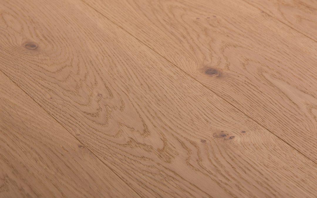 Oak Character Brushed White Oil