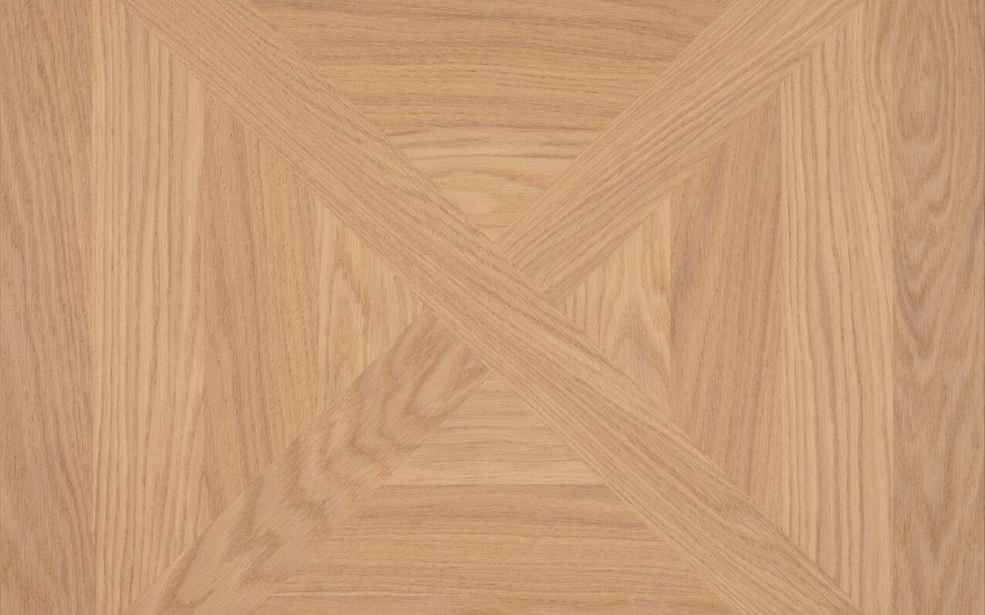 Oak Panel C Brushed White oil